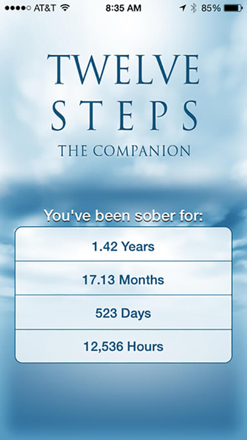8. 12 Steps AA Companion