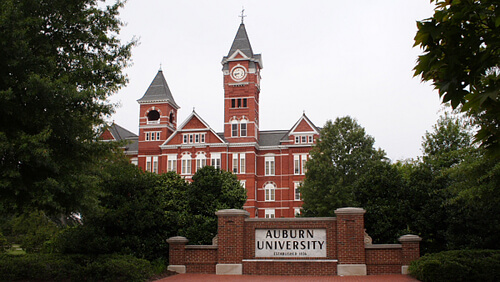 Auburn University Best Counseling Graduate Degrees Alabama