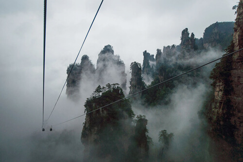 3. Tianzi Mountain Nature Reserve GÇô Hunan, China