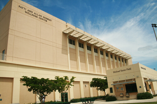 11. Patti and Allan Herbert Wellness Center, University of Miami – Coral Gables, Florida