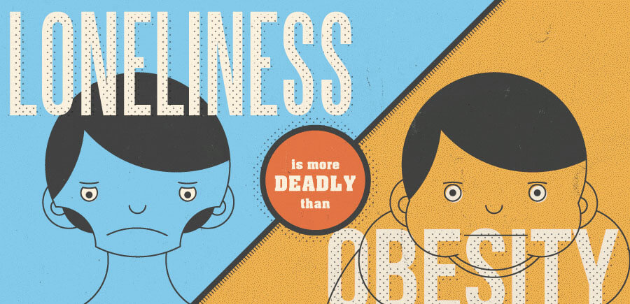 Loneliness is More Deadly than Obesity