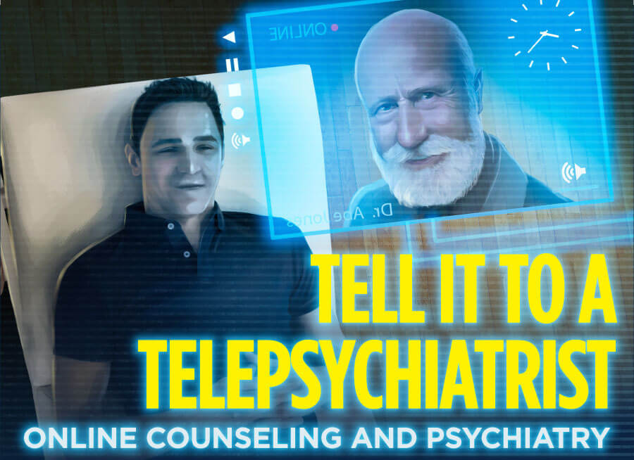 Tell It To a Telepsychiatrist: Online Counseling and Psychiatry