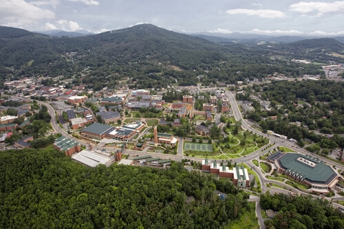 Appalachian State University Best Counseling Graduate Degrees North Carolina